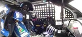 Dale Earnhardt Jr.'s steering wheel came off in the middle of a race