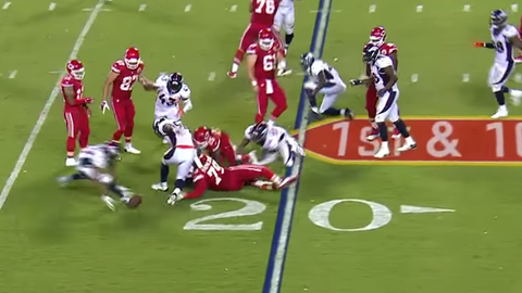 Broncos take a Jamaal Charles fumble to the house for a stunning comeback win (Week 2)