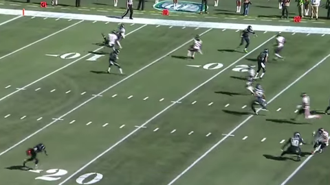 Seattle's punt return unit fakes out the Bears (Week 3)