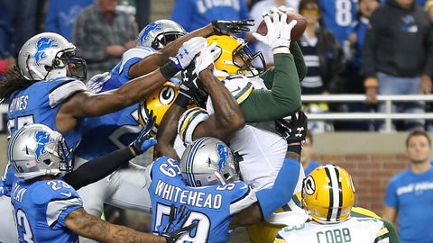 The Rodgers to Rodgers game-winning Hail Mary in Detroit (Week 13)