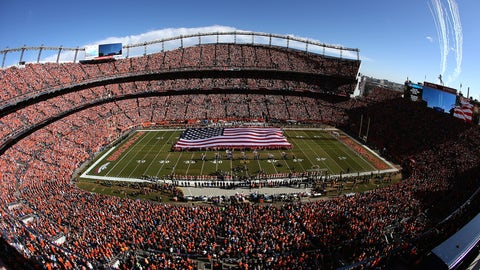 Denver Broncos -- Sports Authority Field at Mile High