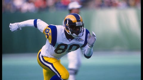 Wide receiver: Isaac Bruce (1995)