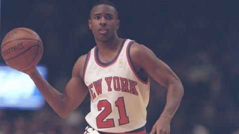 Charlie Ward -- New York Knicks