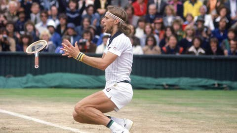 Bjorn Borg remains king of the grass