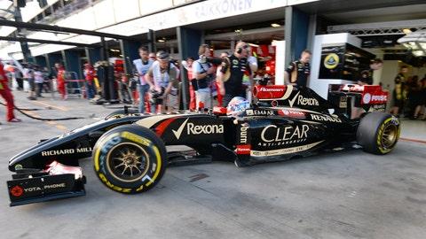 Formula 1 Friday practice at Albert Park