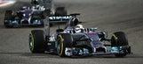 Hamilton edges Rosberg to win the F1 Bahrain Grand Prix