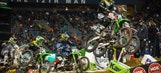 Video: Supercross rider James Stewart visits the Seattle Seahawks