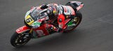 Bradl fifth in MotoGP race despite heavy Q2 crash