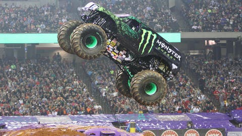 Monster Jam Freestyle in Atlanta: Monster Energy