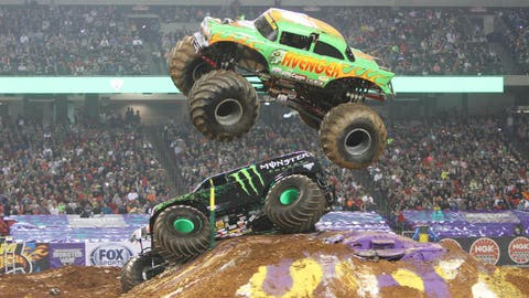 Monster Jam Freestyle in Atlanta: Avenger