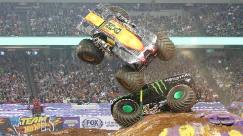 Monster Jam Freestyle in Atlanta: Max-D (SM)