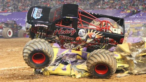 Monster Jam Freestyle in Atlanta: Heavy Hitter