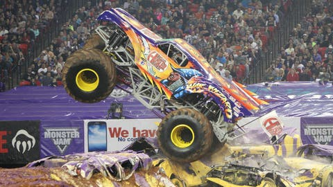 Monster Jam Freestyle in Atlanta: War Wizard