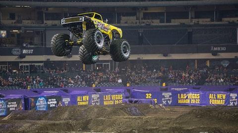 Monster Jam racing in Anaheim: Titan