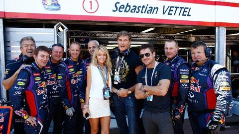 Celebrity sightings at the F1 Monaco GP