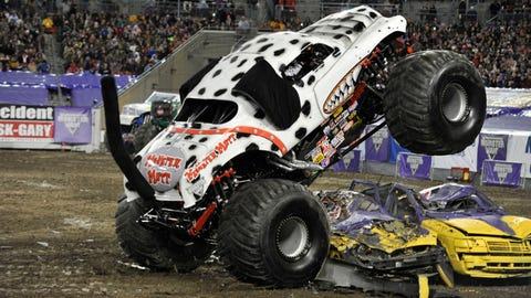 Monster Jam freestyle in Tampa, FL: Monster Mutt® Dalmatian