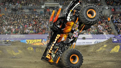 Monster Jam freestyle in Tampa, FL: El Toro Loco®