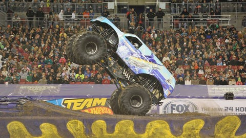 Monster Jam freestyle in Tampa, FL: Hooked