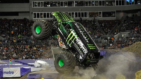 Monster Jam freestyle in Tampa, FL: Monster Energy