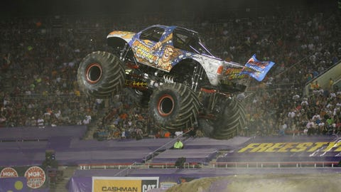 Monster Jam World Finals XV in Las Vegas: Stone Crusher