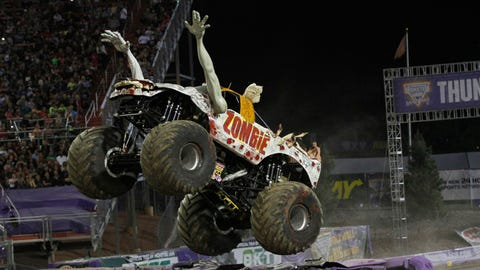 Monster Jam World Finals XV in Las Vegas: Zombie