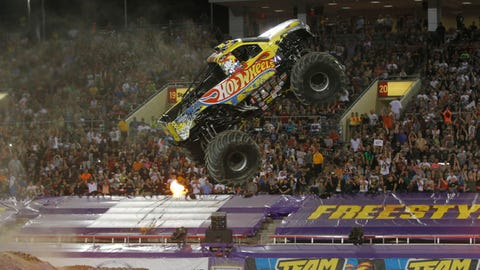 Monster Jam World Finals XV in Las Vegas: Team Hot Wheels® Firestorm®