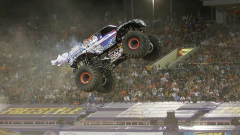 Monster Jam World Finals XV in Las Vegas: Lucas Oil Crusader®
