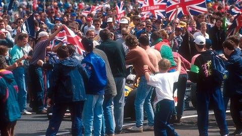 Gallery: Historic moments from Silverstone