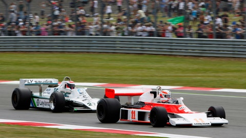 50th Grand Prix Parade at Silverstone