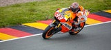 Marquez wins ninth straight race after hectic start at German GP