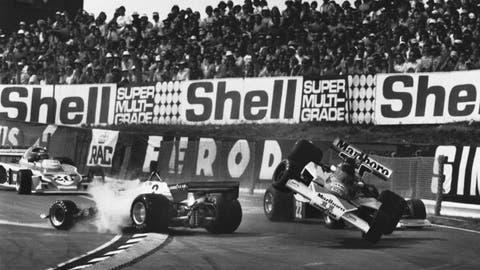 Gallery: Biggest F1 pile-ups