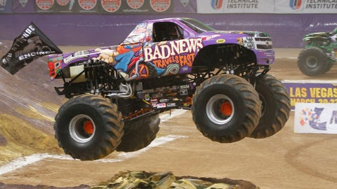 Photos: Monster Jam racing - St. Louis