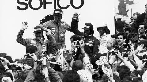 Niki Lauda's Formula One career in photos