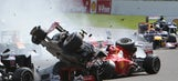 On this day: Relive the largest F1 pile-up of the past decade