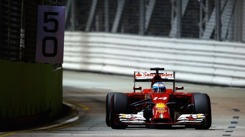 Drivers and teams prep for the Formula One Singapore GP