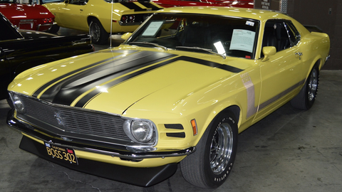 Lot 758 - 1970 Ford Mustang Boss 302 Fastback