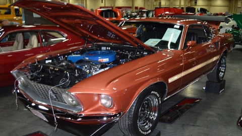 Lot 724 - 1969 Ford Mustang Mach 1 428 CJ Fastback