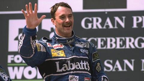Nigel Mansell: 31 wins