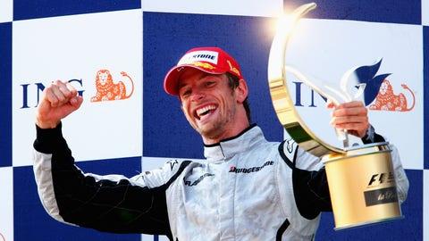 Jenson Button: 15 wins