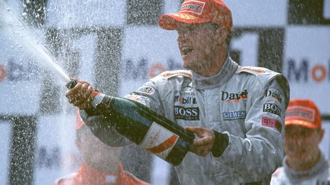 David Coulthard: 13 wins