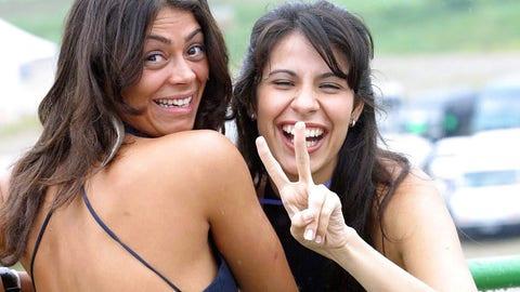 Grid girls of Interlagos