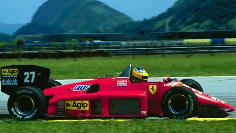 1986: Ferrari F1/86