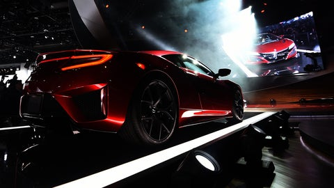 The 2016 Acura NSX