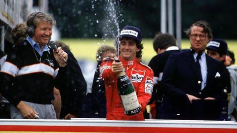 Alain Prost's F1 career