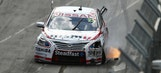 Adelaide action: Thrills and spills as racing resumes Down Under