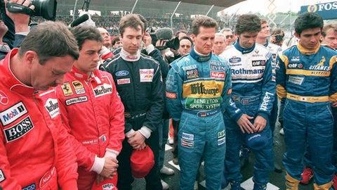The 1995 F1 season in photos