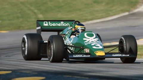 Gallery of green F1 cars