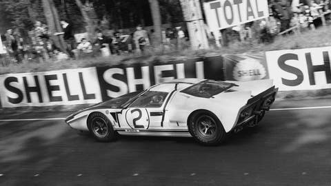 Through the years: Ford GT40 competes at Le Mans