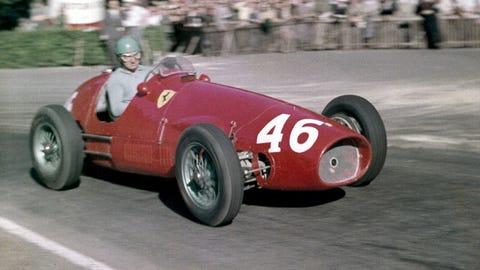 7. Ferrari - 1953 - 78% of wins