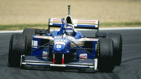 8. (tie) Williams - 1996 - 75% of wins